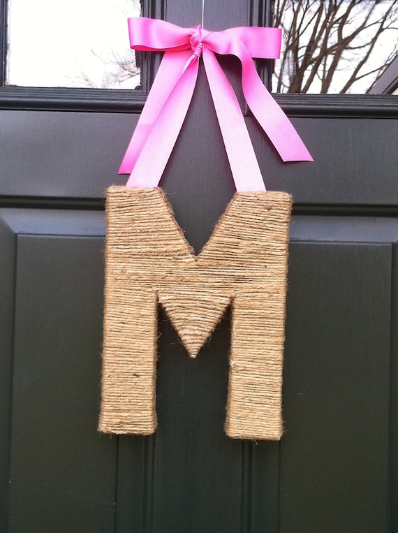 Small Monogram Wreath