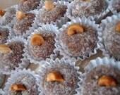 Brazilian candy Peanuts Delight Cajuzinho you'll get 15 little of them