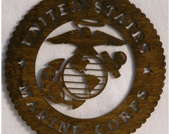 U.S. Marines Insignia  Cutout.