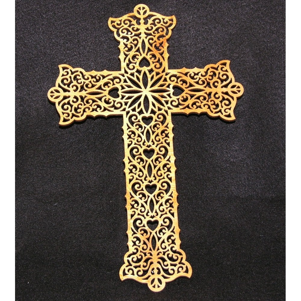 Large Wood Cross Cutout By Newenglandworkshop On Etsy