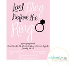 Fling Before the Ring Invitation