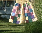 Girls Patchwork Panel Skirt Size 5\/6