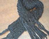Black Licorice Scarf