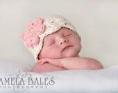 CROCHET PATTERN Flapper Beanie Newborn-Preteen