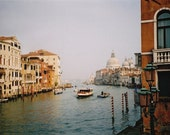 90% off Clearance: Grand Canal- Signed Fine Art Travel Photograph, 8 x 12- Venice Italy