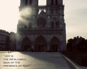 50% off clearance, Inspirational postcard- Joy