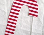 Christmas DIY applique, iron on, candy cane