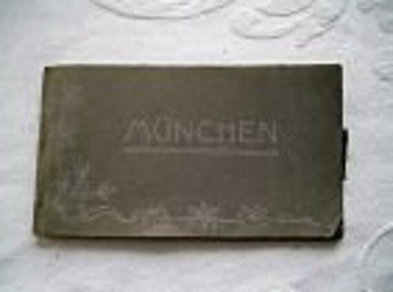 Antique, Munchen/Munich Postcard Album