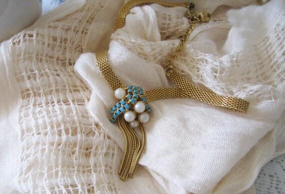 1930 Art Deco Necklace, Vintage Art Deco Jewelry