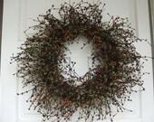 Spooky Berry Wreath