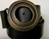 Brass Water Ring Belt Buckle
