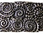 Square Spiral belt buckle