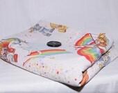 Custom Listing for Erin Brady-Rainbow Brite Blanket