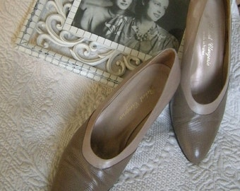 Downton Abbey Style Vintage French Shoes