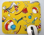 Buy 2 FREE SHIPPING Special!!   Mouse Pad, Computer Mouse Pad, Fabric Mousepad The Cat in the Hat