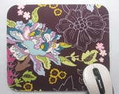 Buy 2 FREE SHIPPING Special!!   Mouse Pad, Computer Mouse Pad, Fabric Mousepad Twilight Pond
