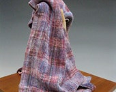 Handwoven Chenille Scarf: I Was Your Age, Once