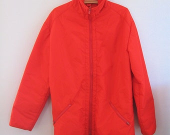 SALE Scarlet Red Large size Ski Jacket