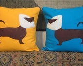 Custom Listing For Carrie / Cone Dog Pillow / Veterinarian Gift / Doxie Lover / Dog Lover / Pet Lover
