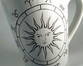Celestial Zodiac Astrology Sun Mug