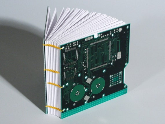 Electronic Circuit Board Notebook