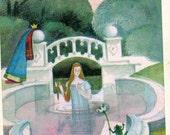 Fantasy Fairytale Brothers Grimm ''Tsarevna Shipovnik'',illustrated by G.Dmitriyeva, 1