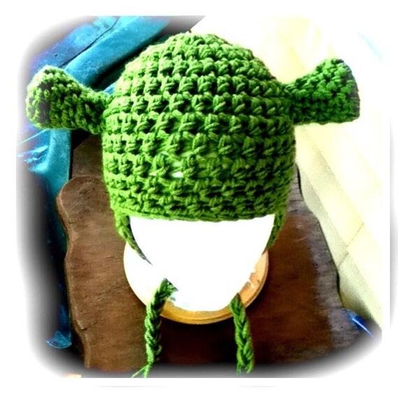 Pattern Crochet Shrek Hat