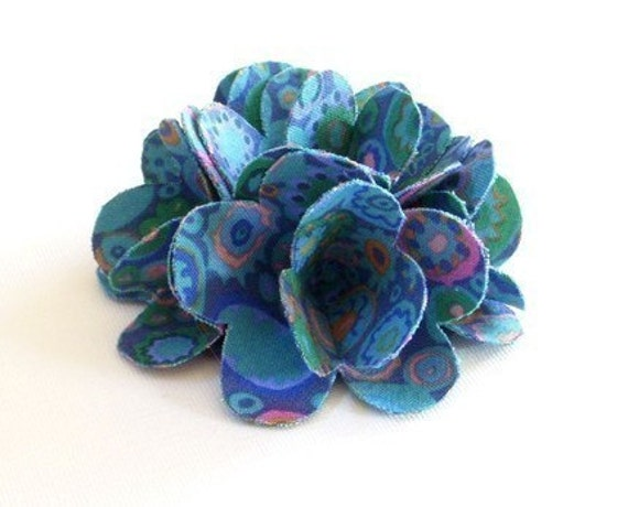 30 Fabulous and Easy to Make DIY Hair Bows - Page 2 of 3 ...   Fabric Hair Flowers Tutorial