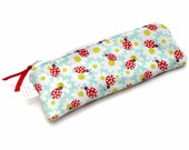 Stitched by JessaLu Zip Notions Bag -  Ladybugs