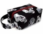 Stitched by JessaLu Box Bag - Knitting Sheep