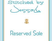 RESERVED for mztania - Stitched by JessaLu Box Bag - Knitmare