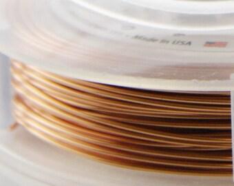Artistic Wire 22 Gauge Lead/Nickel Safe-Natural Copper 15Yard