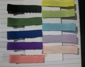 10 Color Hair Clippie Combo Pack- No Slip Grip- FREE SHIPPING