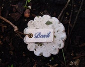 RESERVED: Plantable Basil Tags