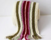 Colour Therapy Scarf  - Knitting Pattern.