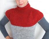 Funnel Neck Top - PDF Original Knitting Pattern