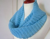 RESERVED  Estelle -  Hand Knit Infinity Scarf in 100% Cashmere