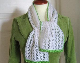 Hand Knit Paris Spring Scarf