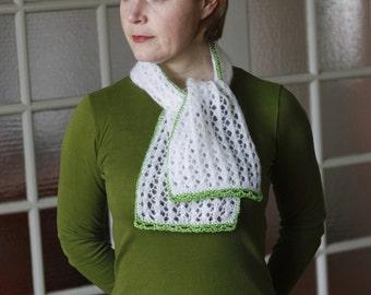 PDF knitting pattern - Paris Scarf.