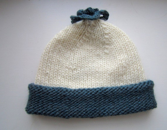 Rustic Nordic Hat pdf knitting pattern.