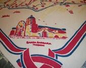 Los Angeles Souviner Tablecloth