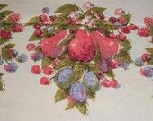 Pink Linen Vintage tablecloth