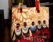 African Influence Tote Bag - Reserve Order
