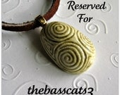 Reserved Listing for thebasscats3