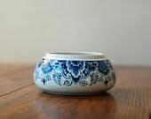 Vintage Delft Blue and White Ceramic Bowl Holland