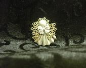 Handmade Christmas Angel Pin