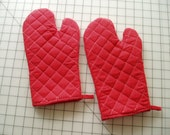 Kitchen Oven Mitt Pattern