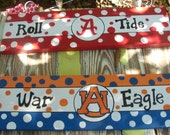Roll Tide War Eagle Go Gators Rocky Top Hogs  College Team Sign