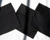 Reusable Sandwich Bag--Blustery Day FlipFlap Sacks--Basic Black