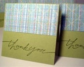 Mini Thank YOu Cards, Set of 6